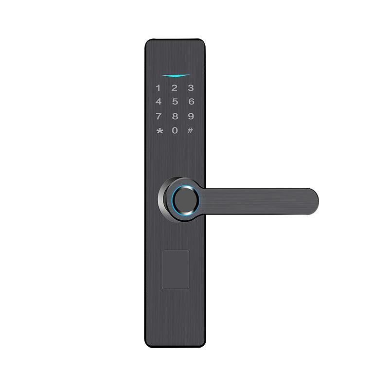 Smart Fingerprint Lock Wooden Door Lock Security Office Digital Electronic Lock