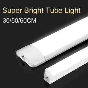 T5 Led Tube Light 220V 30/50/60CM 10W 20W T8 Tube Lamp Bar 1FT 2FT Wall Lights Fixture for Home Lighting Closet Kitchen Study