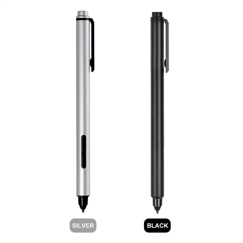 Surface Pen For Microsoft Surface Pro 4 Surface Pro 3 High Fidelity Writing Drawing Or Painting With 4 Tips-Silver Tablet Pen