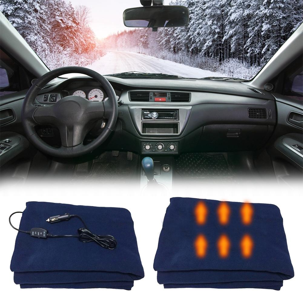 145*100cm Car Heating Blanket 12V Car Heating Switch Control Car Constant Temperature Heating Blanket Car Electric Blanket