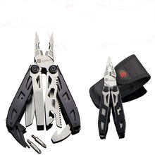 Outdoors folding plier tools multi functional pliers survival EDC combination 420 stainless portable