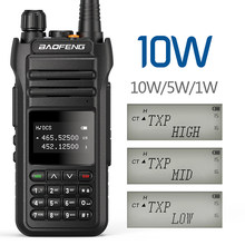 Baofeng UV-88 walkie talkie alta potência 10w amador estação de rádio em dois sentidos uv88 tri-power 10/5/1w transceptor de banda dupla UV-5R
