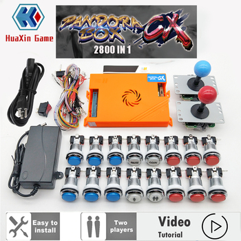Video para jugador 2 Original Pandora Box CX 2800 Kit copia Joystick...
