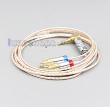 Cable de auriculares LN006375, alta resolución, chapado en plata, XLR, 3,5mm, 2,5mm, 4,4mm, para Sennheiser HD580 HD600 HD650 HDxxx HD660S HD58x HD6xx