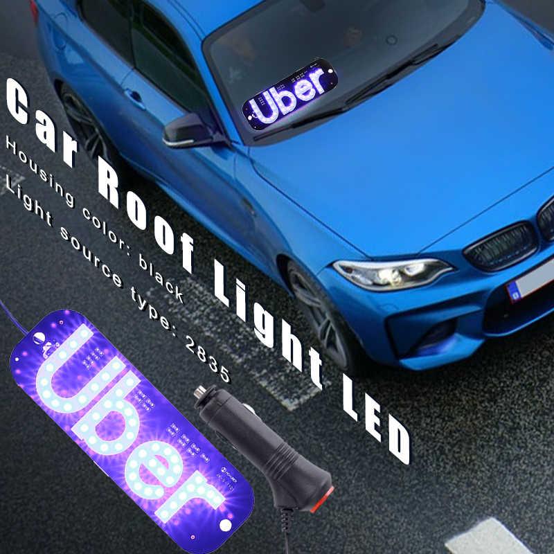 Vehemo מונית אור נהיגה אור רכב מנורת רכב ריק רכב מחוון עמיד מצית עם מתג כחול