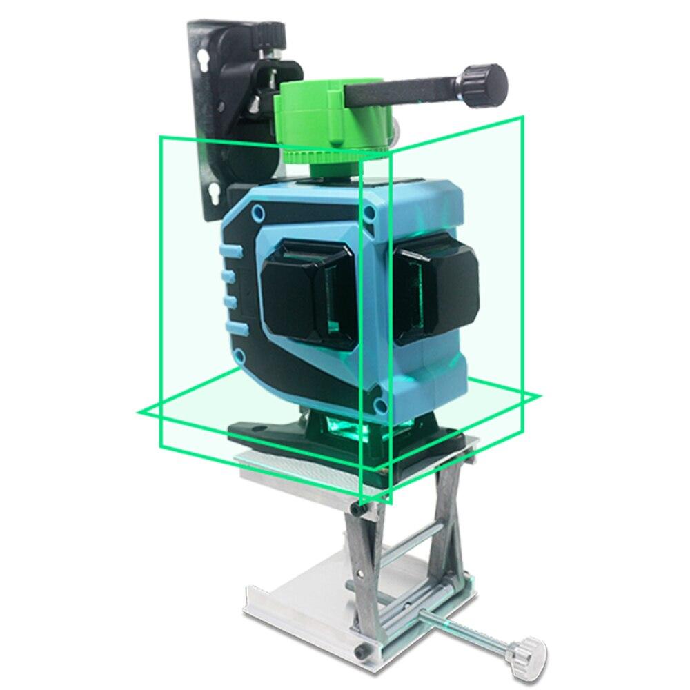 12 линий 3D зеленый лазерный нивелир самонивелирующийся 360 лазерный уровень лазеры для профессиональных строительных инструментов