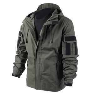 Тактическое охотничье пальто BACRAFT, армейская униформа, тактическое оборудование для страйкбола, дымчато-зеленого цвета, 2020