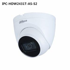 Image 3 - Dahua IPC HDW2431T AS S2 4MP POE dahili MiC SD kart yuvası IR 30M yıldız kamera ve IPC HDW4433C A 4MP dahili mikrofon IP kamera