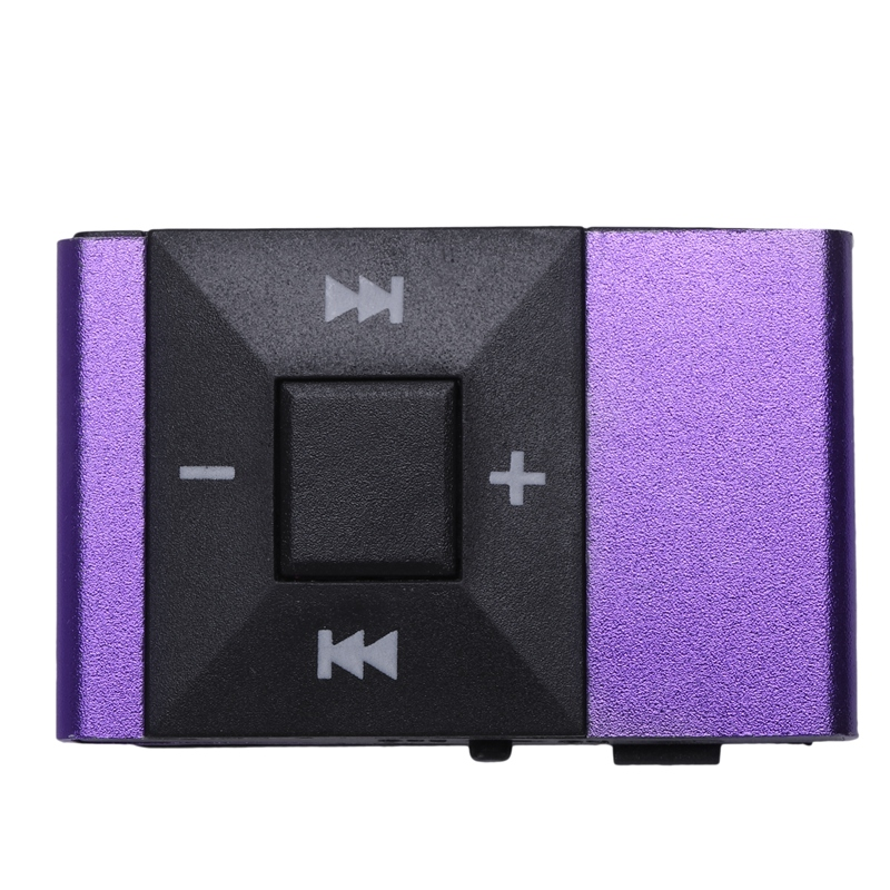 Mini MP3 Player Sport Music Player 16GB SD TF Supported With Clip Headphone USB Cable