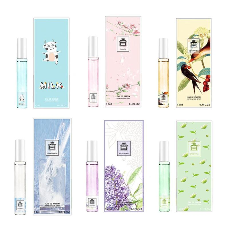 15ml Brand Perfume Fragrance Long Lasting For Women Parfum Natural Milk Green Lavender White Cool Osmanthus Peach Deodorant