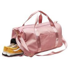 Nylon Travel Sports Gym Shoulder Bag Large Waterproof Nylon
