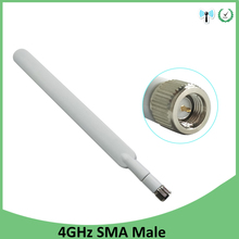 10pcs 4G lte antenna 5dbi SMA Male Connector antenne for huawei b593 4G LTE router external repeater wireless modem antennas new huawei b593s 601 lte fdd 2600mhz tdd2300mhz 150mbps wireless router 2pcs antenna of b593