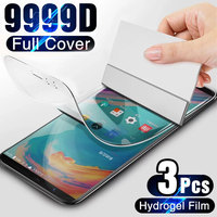 Película de hidrogel para OnePLus 7T 6T 5T 8T Pro, Protector de pantalla suave para OnePLus 7 6 5 8 9 9R Nord