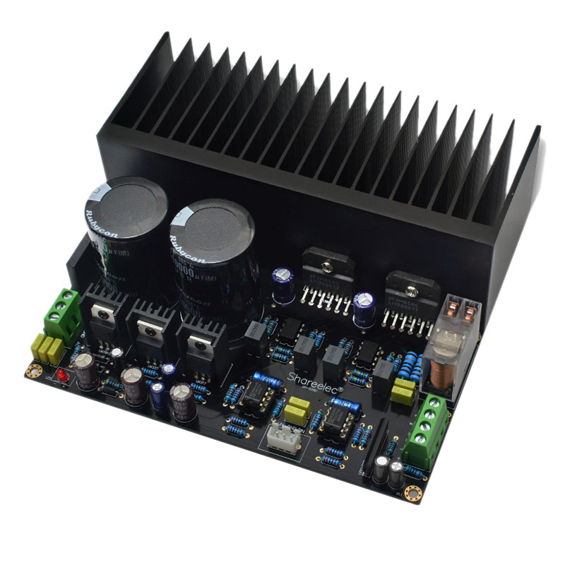 NEW-LM3886 Stereo High Power Amplifier Board OP07 DC Servo 5534 Independent Operational Amplifier(Finished Product)