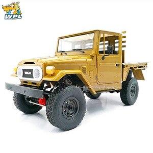 Image 2 - WPL 1 C44KM 1:16 金属組立キットモーターサーボ 4WD クライミングオフロード RC トラック DIY アクセサリー修正されたアップグレード少年のおもちゃ