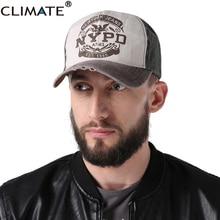 CLIMATE NYPD Baseball Caps New York Trucker Hat Cap