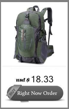 50l saco de acampamento ao ar livre