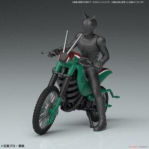 Image 4 - Original Bandai Kamen rider Motorcycle Fighting Locust Locomotive NO.3 Assembly Action Figureals Brinquedos Model