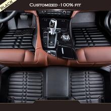цена на Custom car mats for KIA All K2 k3 k4 k5 Cerato Sportage Optima Maxima carnival rio ceed car floor mat Car Tuning Car Accessorie