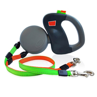 Automatic Retractable Walking Leash For Two Dogs Small And Large Dogs Strong Leashes Outdoor Training Walking Leash Pet Supplies