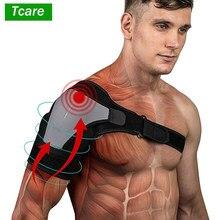 Tcare 1 pçs ombro cinta de estabilidade com almofada de pressão leve e respirável neoprene ombro suporte manga compressão