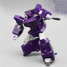 Transformation Robot MFT KO Shockwave MF35 MF-35 MF-35C MF35C G1 Pocket War Pioneer Series lost planet Action Figure Kids Toys(China)