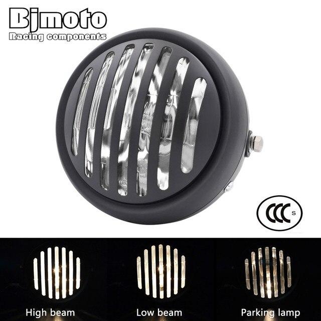 "Headl Light For Harley 6.5"" Motorcycle Headlight Projection Lamp For Honda Yamaha Kawasaki Chopper Bobber Touring Cafe Racer"