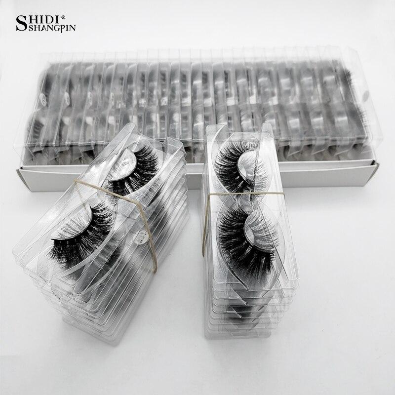 Image 2 - SHIDISHANGPIN Wholesale Eyelashes 3d Mink Lashes Natural Mink Eyelashes Wholesale False Eyelashes Makeup False Lashes In BulkFalse Eyelashes   -