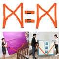 4 unids/set Correa móvil herramientas convenientes correas de hombro correa de transporte de muebles para el hogar mover la casa limpieza