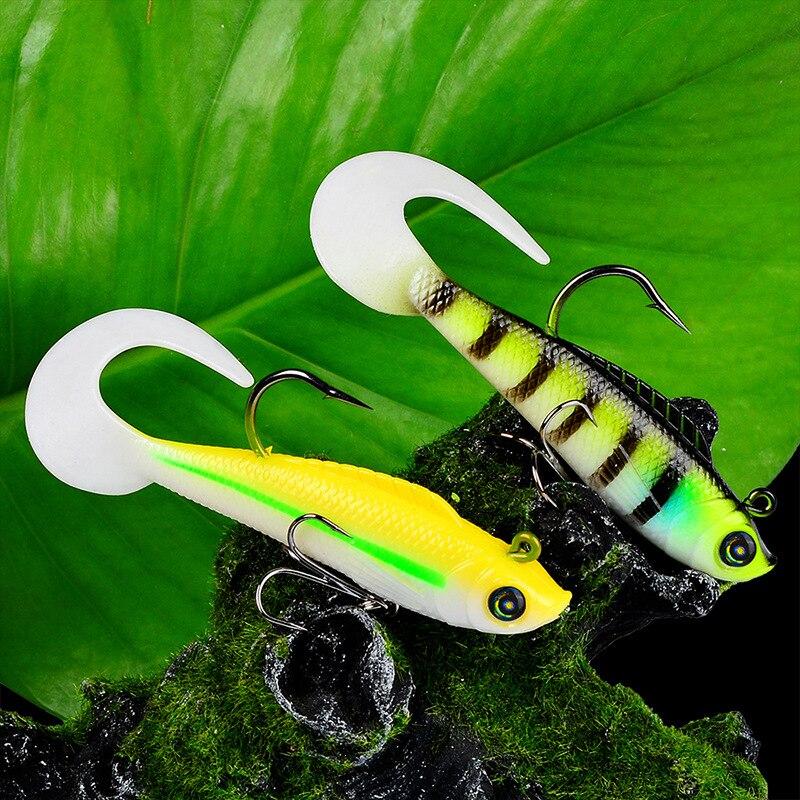 Fishing bait sea bass bionic fishing soft gear suitable for fishing16.5G/9CM Road Bait