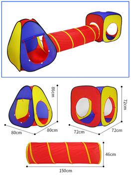3 w 1 dzieci kryty odkryty indeksowania składany zabawkowy domek Polka Dot tunel strzelanie Marine basen z piłeczkami zabawki dla dzieci namiot prezenty tanie i dobre opinie Poliester CN (pochodzenie) 0-12 miesięcy 13-24 miesięcy 2-4 lat 5-7 lat Nadmuchiwany basen z piłeczkami fkkdfis3225656996fkm