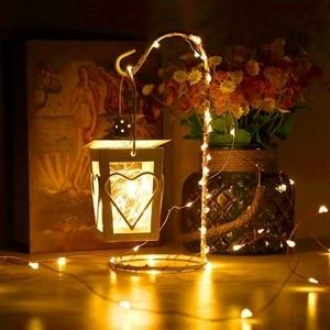 Image 5 - Wasserdichte LED Fee string lichter girlande 10/20/30/50m mit Fernbedienung und netzteil für outdoor Weihnachten hochzeit dekoration