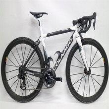 Матовый черный глянцевый белый Италия Colnago C64 углеродный дорожный велосипед с 105 R7010 R8010 groupset 50 мм Колесная пара