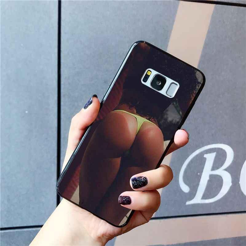 MaiYaCa seksi eşek iç çamaşırı Bikini kadın kız telefon kılıfı için Samsung Galaxy S20 S20 S10S20 S10E S6 S7 S8 S9 artı S20 S10lite S5
