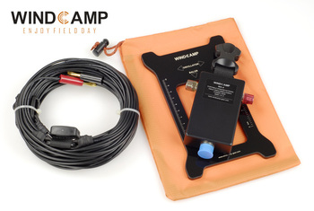 Free shiping Qrp WA-4 Windom HF Antenna Amateur Radio Ham (7 MHZ /14 MHZ / 28 MHZ / 50 MHZ) with bag Ft-817 818 Eleacraft KX3