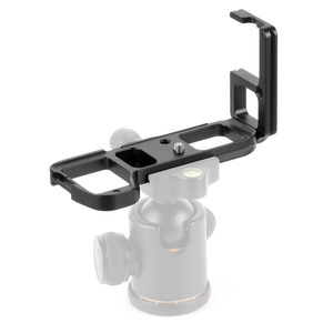 Image 3 - L Type Ball Head Quick Release Plate QR Mounting Bracket Board Mount for Sony a7II /A7R2 /A7M2 Arca Tripod Camera Spare Parts