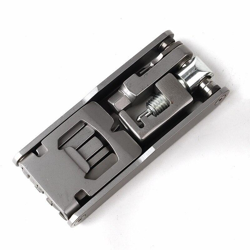 Bike Repair Tool Porous Int/érieur Cl/é Hexagonal R/éparation Portable V/élo De Montagne Cl/é Multi Fonctionnelle Porous Kits Doutils Hexagon Set Silver 1pc
