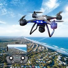 Droni quadricottero F5 PRO RC-WIFI FPV 2.4G/5.8G ESC GPS Hold braccio pieghevole-grandangolo HD 4K doppia fotocamera-modalità altezza RTF