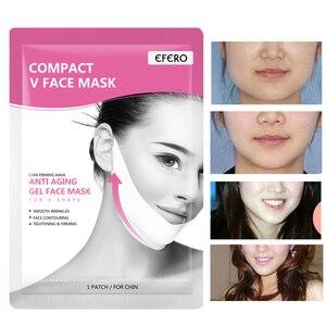 Image 2 - EFERO Face Slim V Line Lift Up Mask Face Cheek Chin Neck Slimming Thin Belt Beauty Delicate Thin Face Mask Slimming Bandage Tool