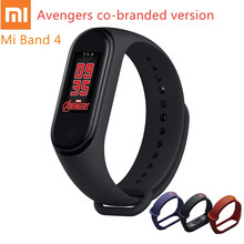 2019 Xiaomi Mi Band 4 Avengers Official Edition Marvel Bracelet Bluetooth5.0 Heart Rate Fitness Waterproof Sport Smart Wristband xiaomi mi band 4