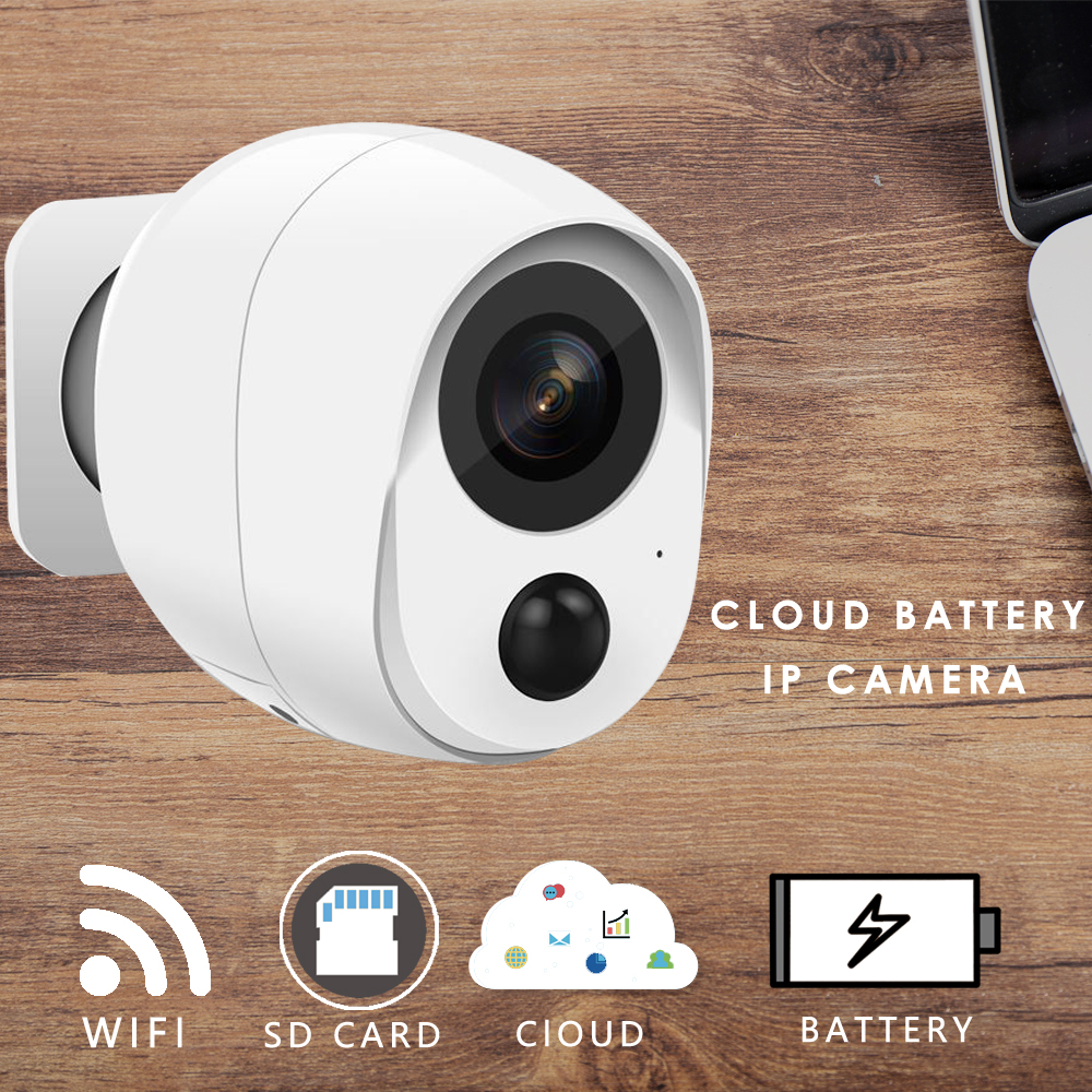 2mp resolution - CTVMAN WIFI IP Camera 1080p 2mp Wireless Security IP Cam With Battery Sd Card Slot  Exterior Outdoor HD Cloud Home CCTV Camaras