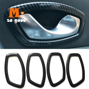 ABS para Renault fluence Samsug Sm3 manija interior de la puerta del Tazón Marco de panel cubierta Trim 2011/12/13/14/15 accesorios shell