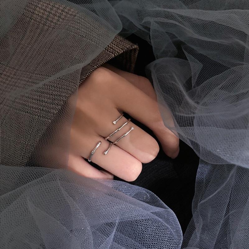 TS-JZ004 Toss Bear 925 Sterling Silver Fine Jewelry Spanish Bear Superior Quality Version Jewelry Women's Fashion Gemstone Ring