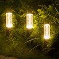 BEIAIDI водонепроницаемый акриловый пузырьковый стенд столбик газон уличный светильник садовый крыльцо Ландшафтная лампа Вилла путь светово...