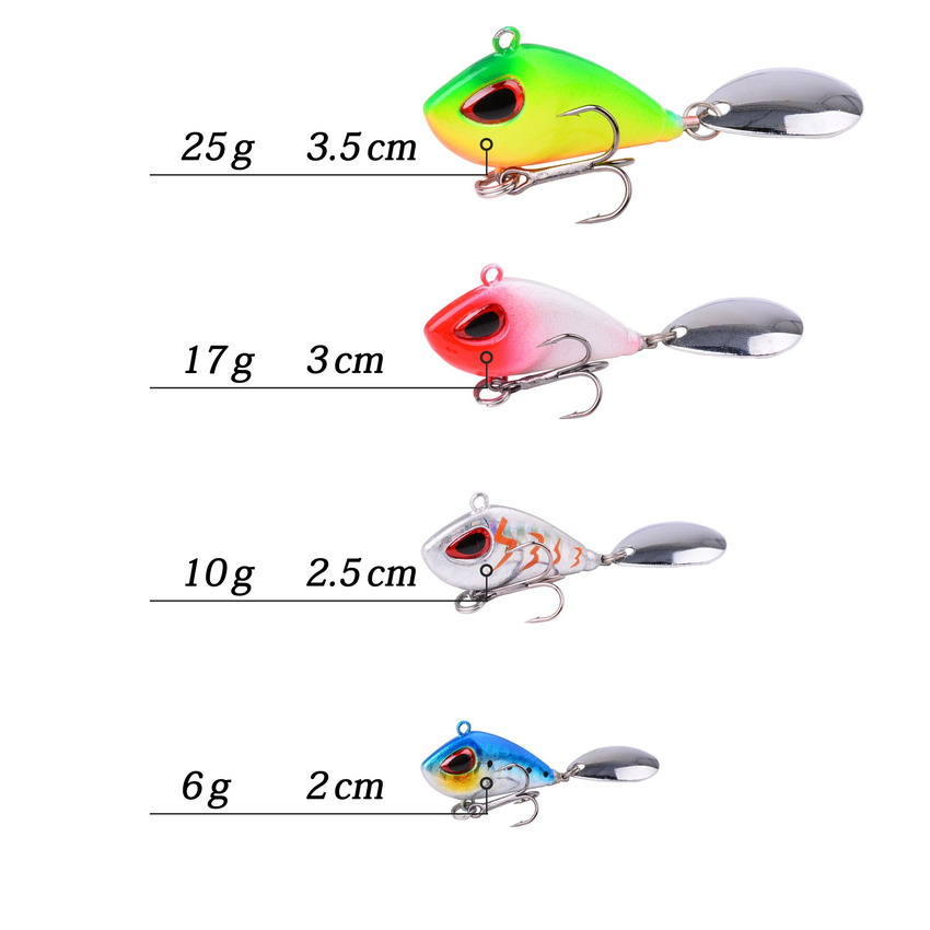 Lure Hooks Fishing Lures Outdoor Soft Bait 10g Sequins Metal Fishing Lure 6T