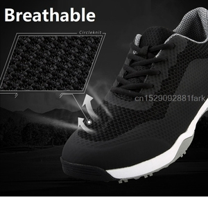 Image 4 - Golf Shoes Mens Sneakers Anti skid Sole Breathable Sneakers Waterproof Soft Golf Shoes for Men Training Sports Shoes