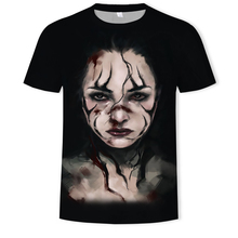 2019 New Horror Chucky-Figure 3D Printed T Shirts Halloween Tshirt Men/Women Oversize Summer Fashion