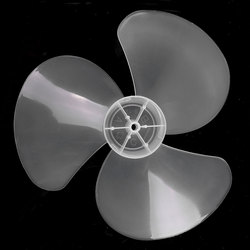12 pouces 3 feuilles pales de ventilateur ménage en plastique ventilateur lame trois feuilles pour piédestal debout ventilateur Table Fanner accessoires généraux