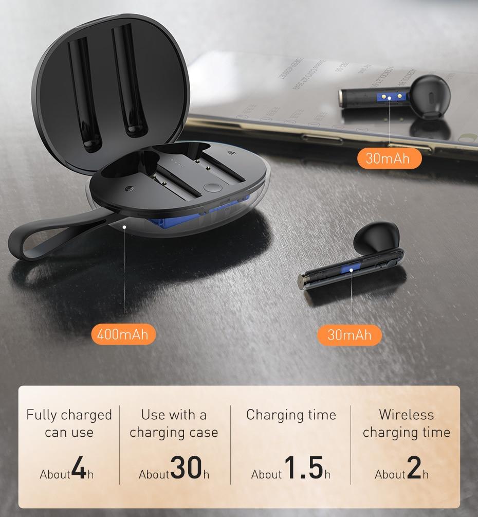 Baseus Encok W05 TWS Bluetooth Headphones 7