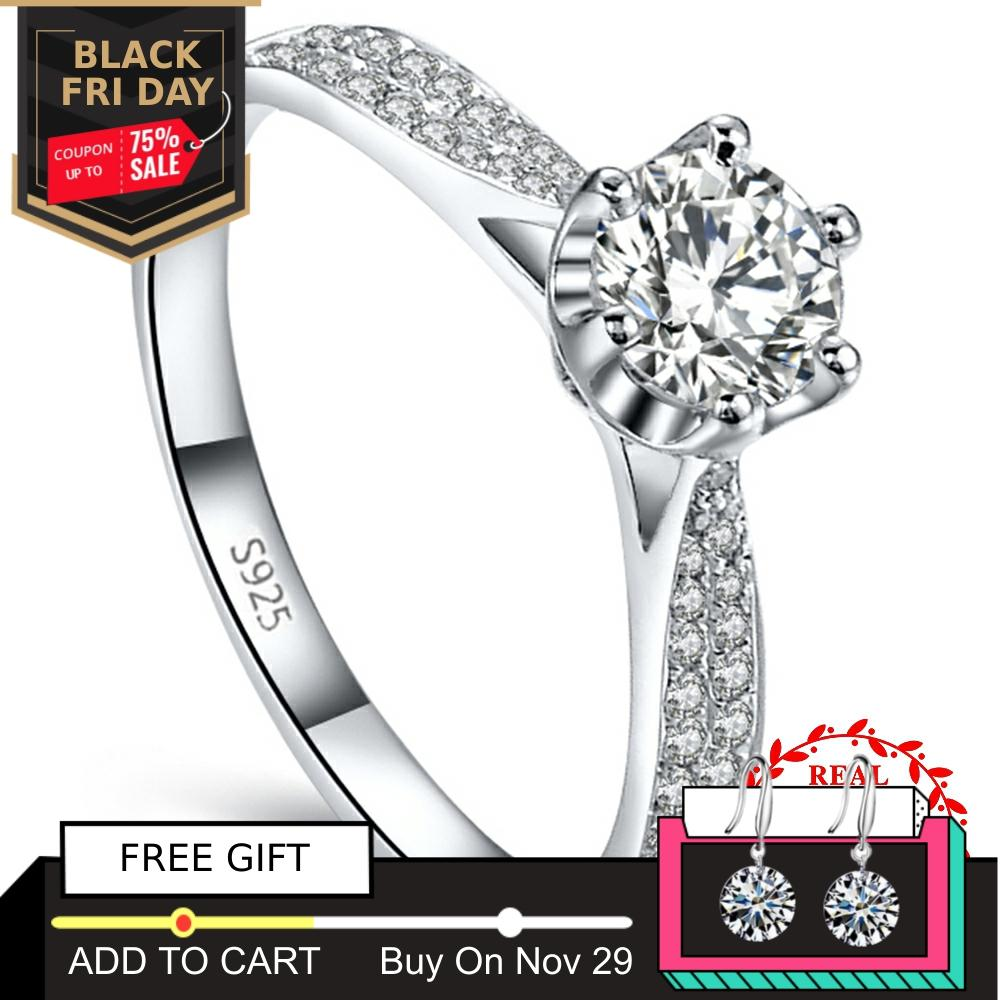 Sparkling bow ring with white pearl genuine sterling silver 925 ideal gift